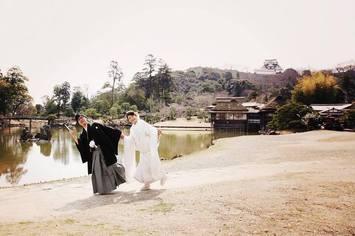 滋賀県でフォトウェディングするなら彦根城|滋賀県彦根市にて