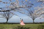 玄宮園&琵琶湖でのフォトウェディング