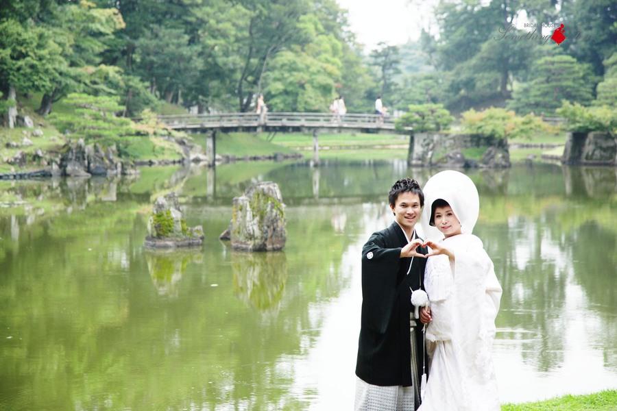 白無垢姿が美しい和装フォトウェディング【彦根城】