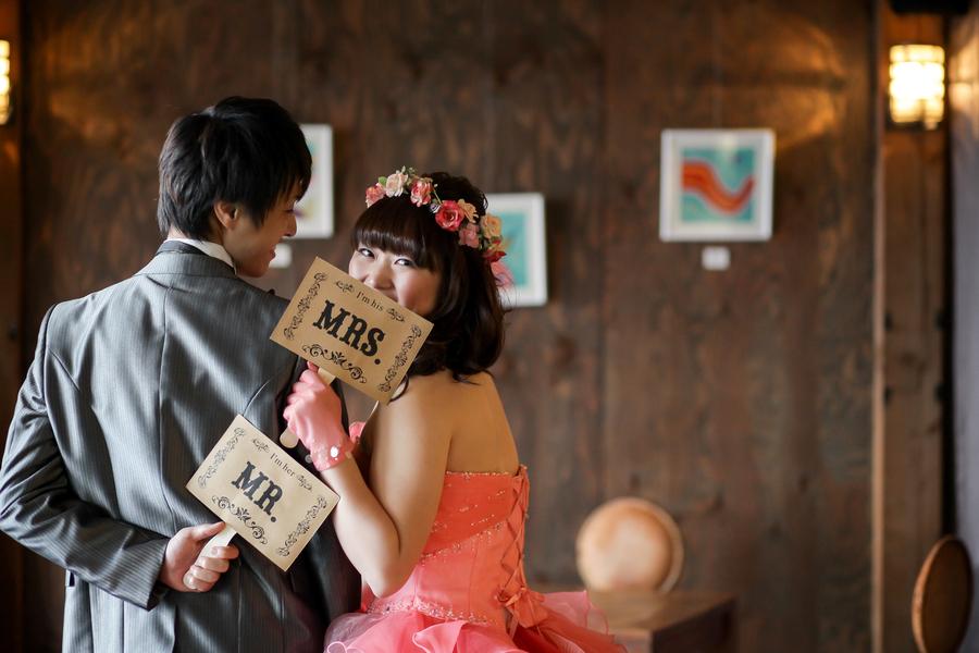 アジアンテイストのカフェや国宝をバックに撮影できるのが滋賀ブライダルフォトワークスの魅力!