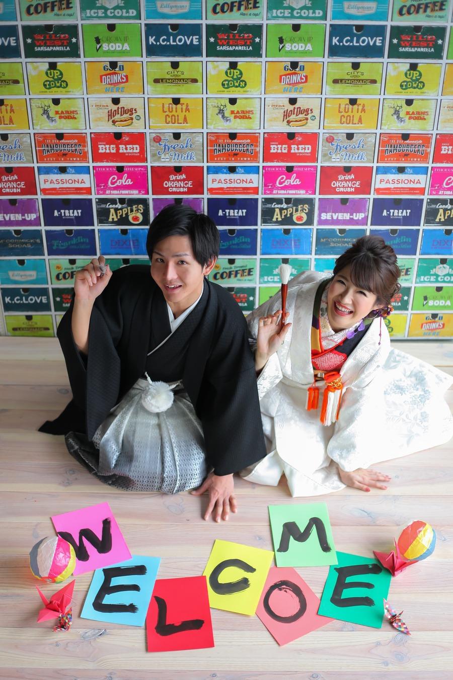 FLAGG WEDDING 滋賀にもこんな素敵なスタジオがあるんです!shiga bridal photoworks