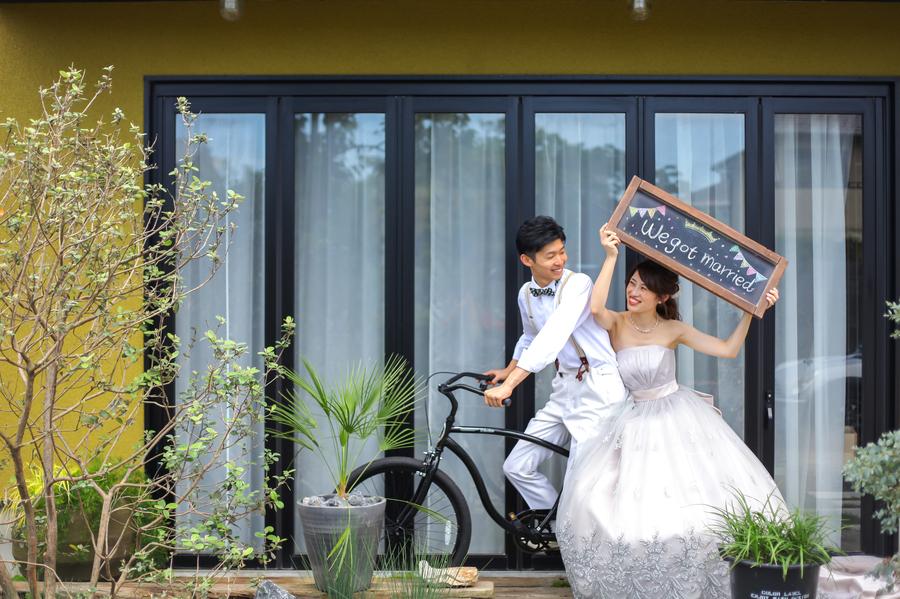 滋賀でフォトウエディング件数No.1のブライダルフォトワークス 結婚式の前撮りにもおススメ