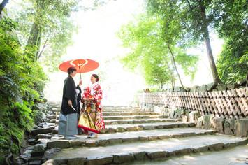 彦根城で前撮りをされた先輩カップルのご紹介