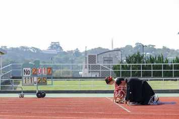 先日の新郎様は国体の滋賀県代表選手でした!お2人の思い出の地で前撮り